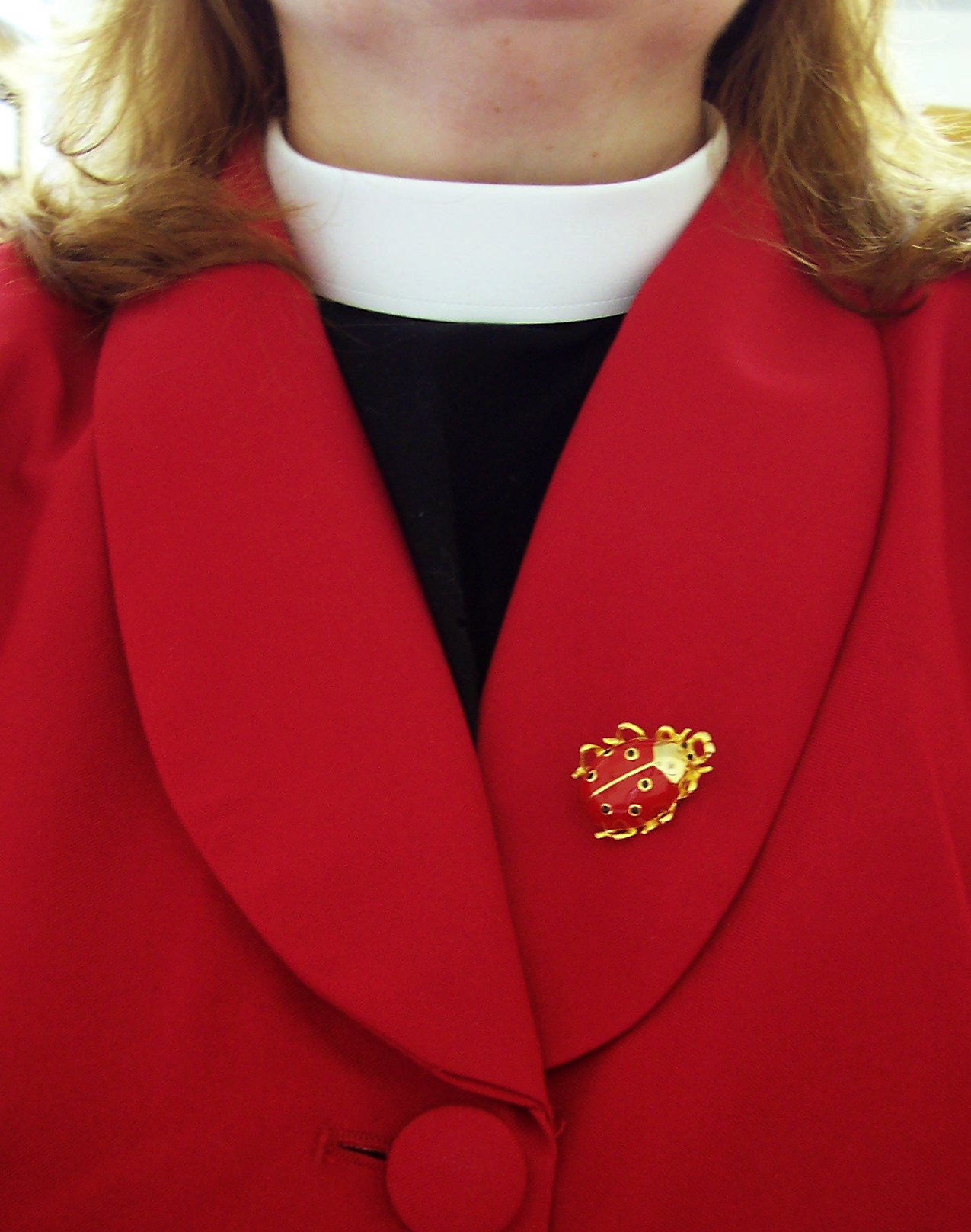 Old Fashioned Clerical Collar